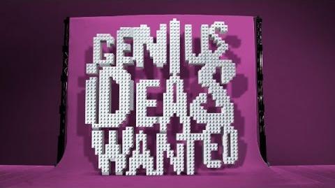 LEGO Ideas - Recruitment Ad