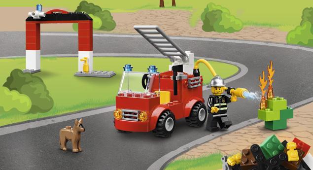 10661 Ma première caserne des pompiers