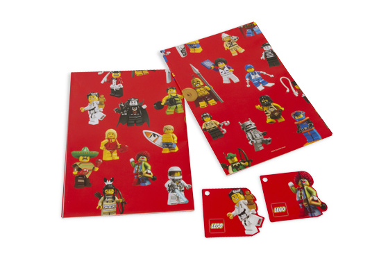 853240 Minifigure Wrapping Paper