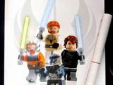Star Wars Clone Wars Poster, 4 Minifigs
