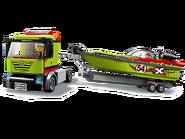 60254 Le transport du bateau de course 3