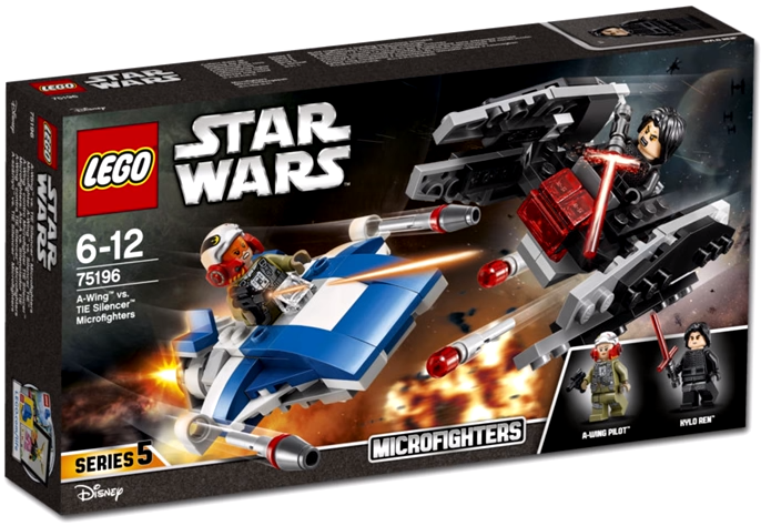 75196 A-Wing vs. TIE Silencer