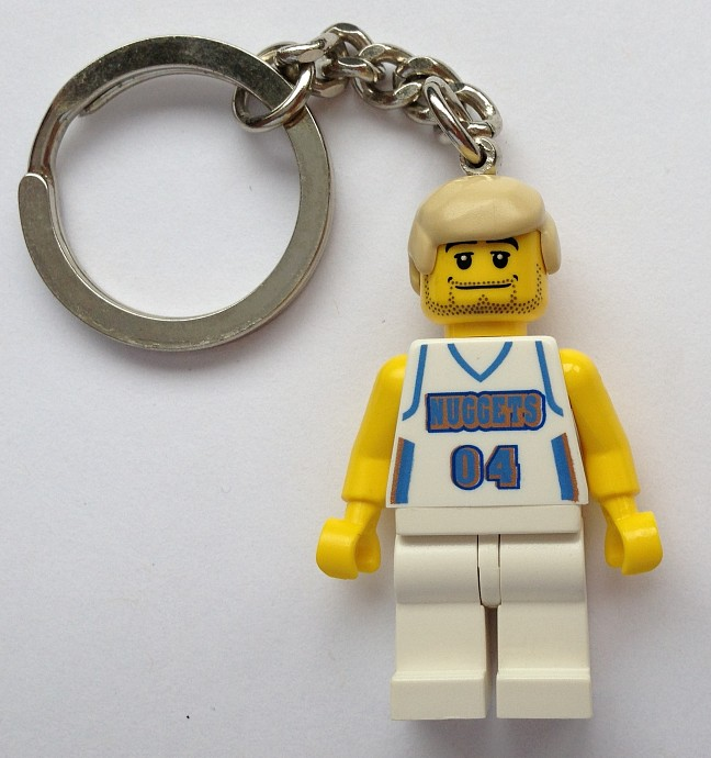 850687 Nuggets Player Key Chain