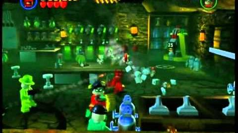 LEGO Batman Walkthrough - Chapter 1 Level 4 - A Poisonus Enemy (HQ)*