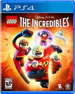 Lego the incredibles ps4 cover