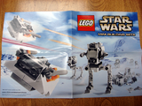 Star Wars Mini AT-ATs and Snowspeeders Poster