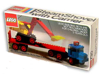 730 Steam Shovel with Carrier