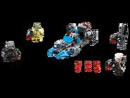 75167 Pack de combat la moto speeder du Bounty Hunter