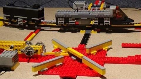 LEGO Monorail mit Kreuz - Weiche Switch ..