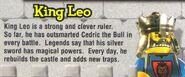 Lego Mania Leo bio