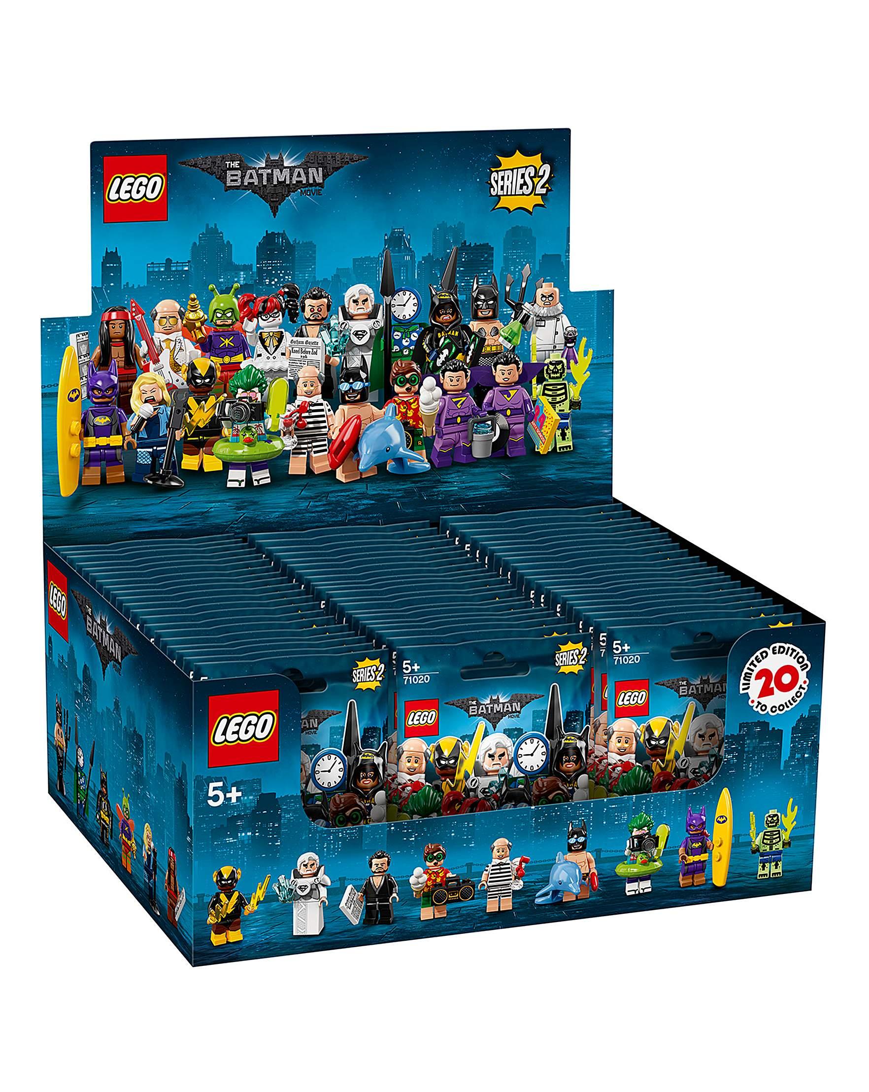 Lego Batman Movie Series 2 Vacation Alfred #10 Minifigure 71020