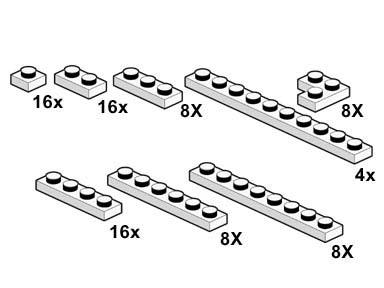 10065 White Plates
