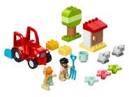 10950 Le tracteur et les animaux