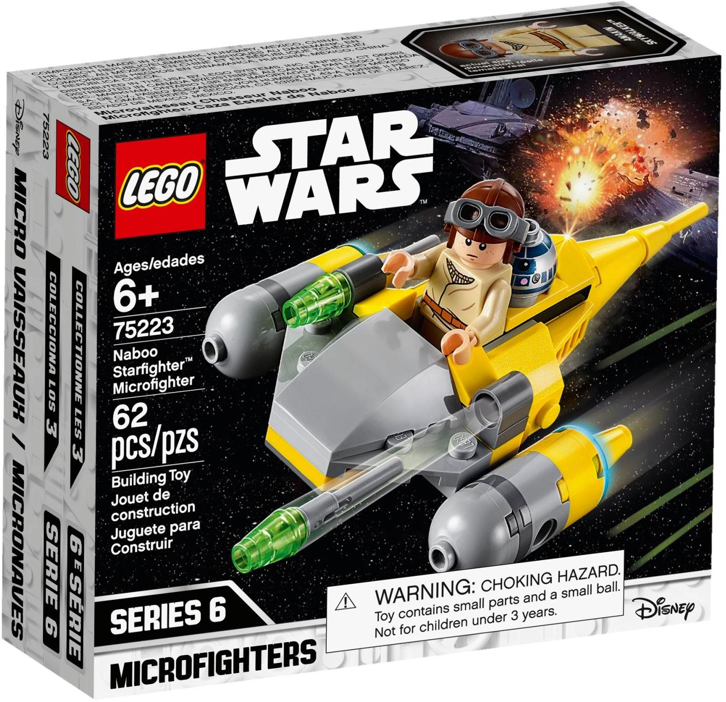 75223 Naboo Starfighter Microfighter