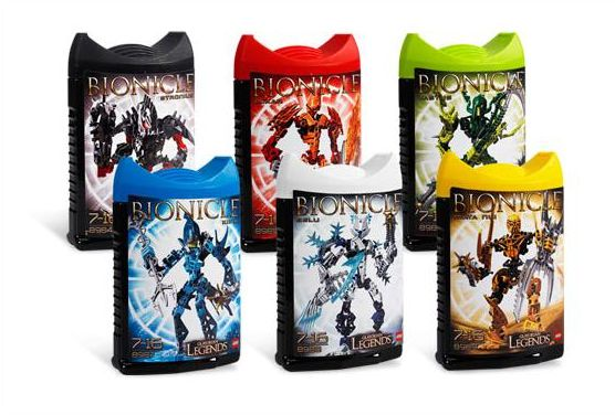 2853303 BIONICLE Glatorian LEGENDS Collection