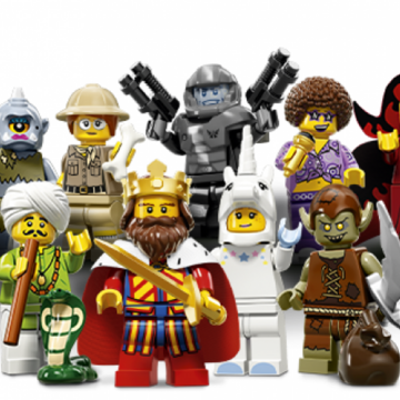 LEGO Minifigures Series 13 Fencer Construction Toy