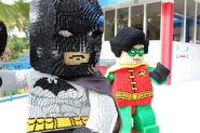 Batman with Robin