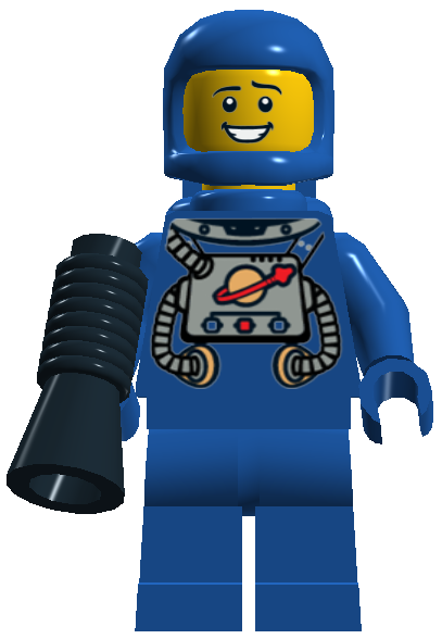 Benny The Brick Spaceman