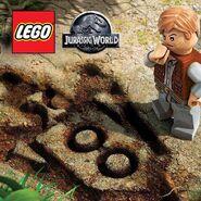LEGO Jurassic World Owen Grady