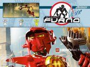 Lego Hero Factory William Furno Cores