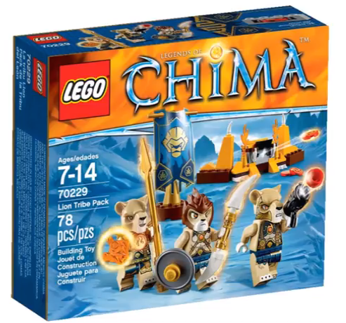 70229 Lion Tribe Pack