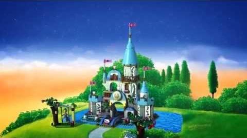 LEGO Disney Princess - Cinderella's Castle 40155