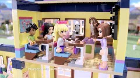 LEGO Friends Heartlake High -- 30 second spot
