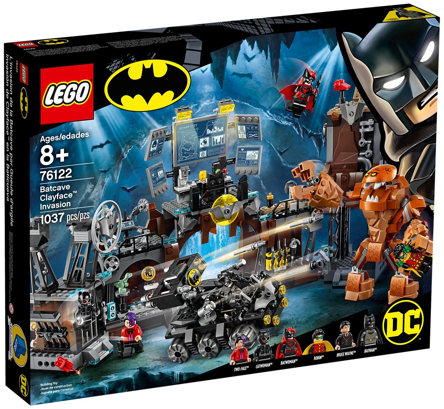 76122 Batcave Clayface Invasion