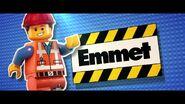 The LEGO Movie Présentation-Emmet