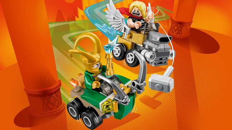 76091 Mighty Micros : Thor contre Loki