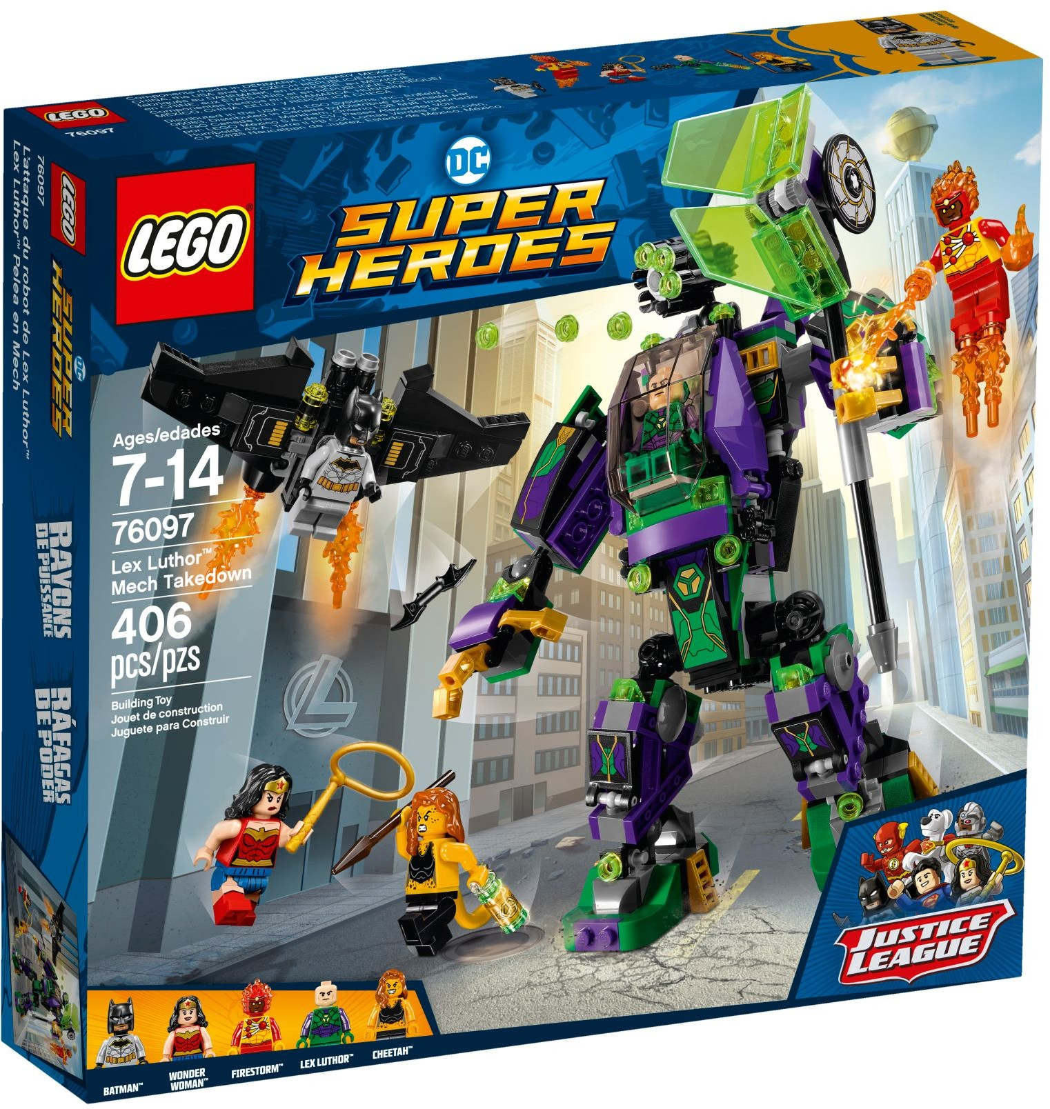 76097 Lex Luthor Mech Takedown