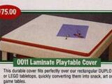 0011 Laminate Playtable Cover