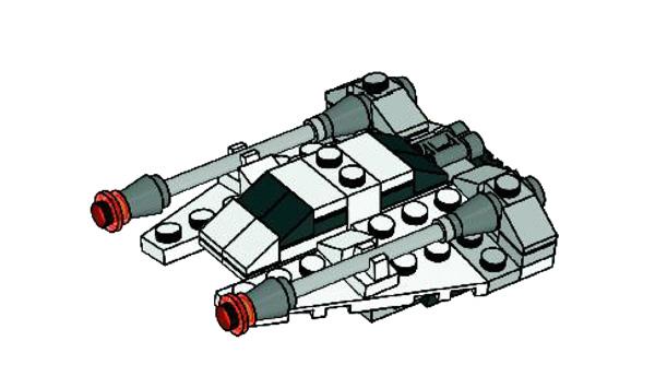 8029 Snowspeeder
