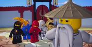All the Ninja Normal and Sensei Wu