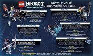 LEGO Ninjago Nindroids Vilains