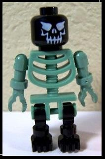 Black-and-Green Skeleton