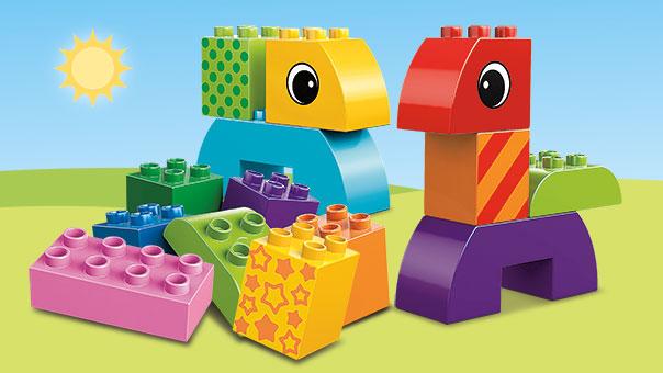 10554 Jeu de construction à roulettes pour tout-petits