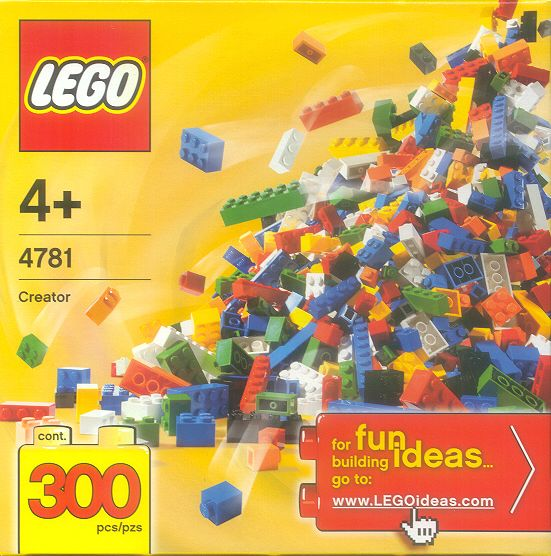 4781 Bulk Set - 300 Bricks