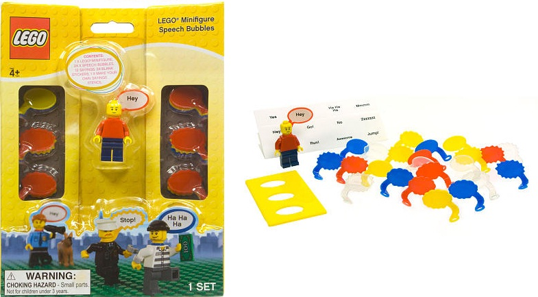 81087 Minifigure Speech Bubbles