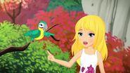 Stéphanie et perroquet-Stéphanie et le perroquet