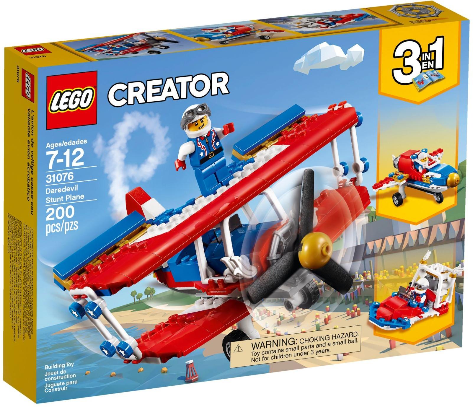 31076 Daredevil Stunt Plane