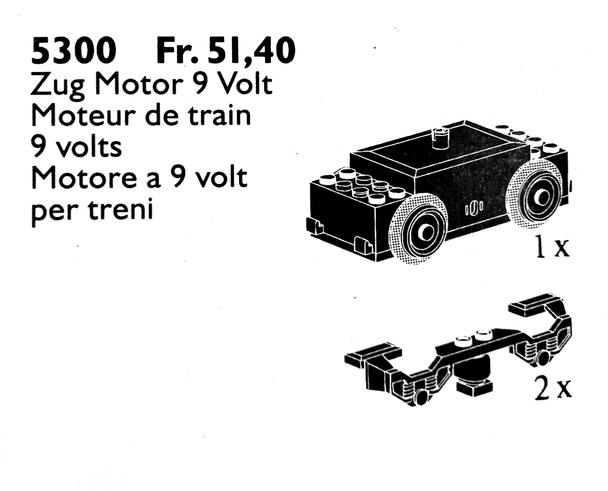 5300 Train Motor 9V