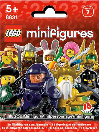 8831 Minifigures Série 7