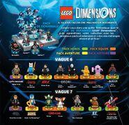 LEGO Dimensions Vagues 6 à 7