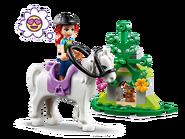 41371 La remorque à chevaux de Mia 3