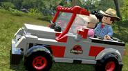 LEGO Jurassic World The Videogame It's a dinosaur!