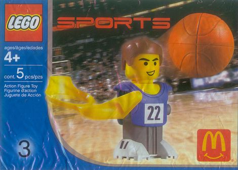 7917 Blue Basketball Player