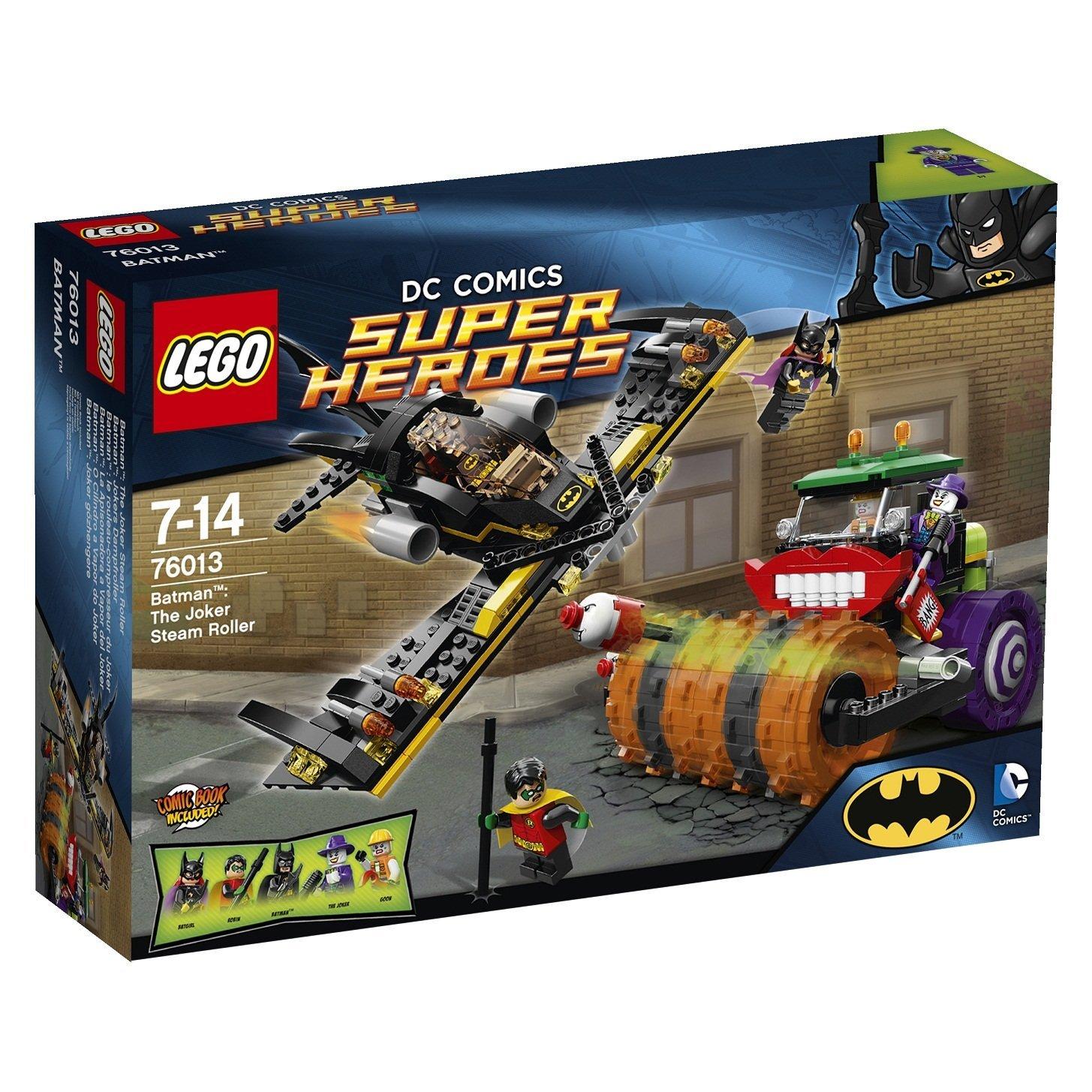 76013 Batman: The Joker Steam Roller