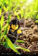 The LEGO Ninjago Movie Poster Cole