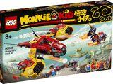 80008 Monkie Kid Cloud Jet